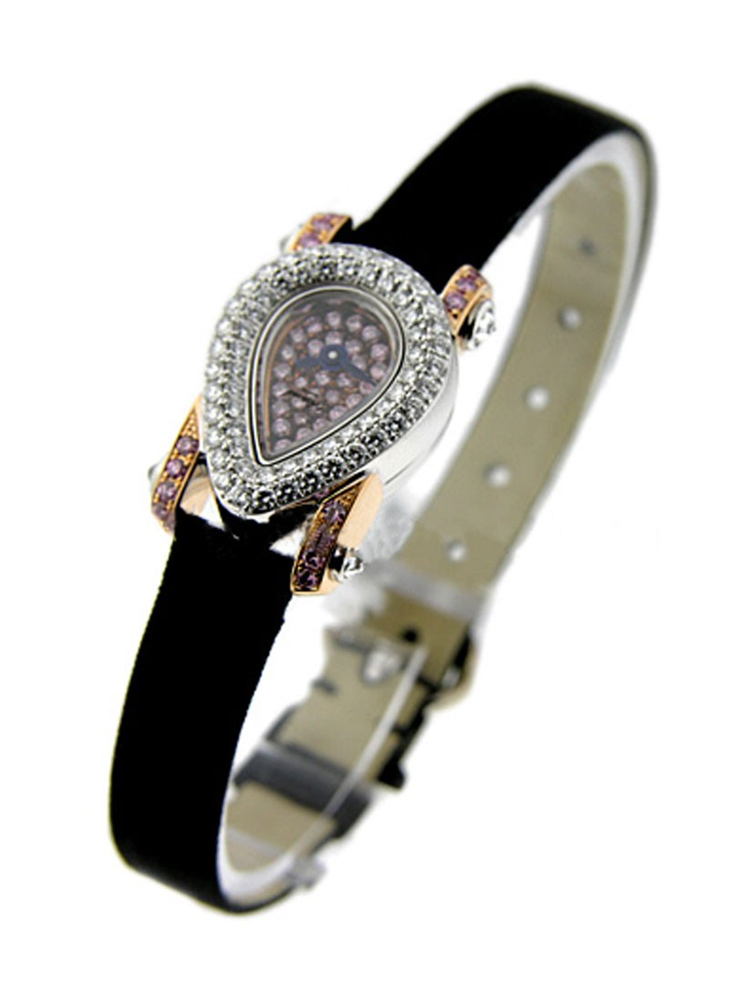 Chopard  Haute Joaillerie in White Gold with Diamond Bezel