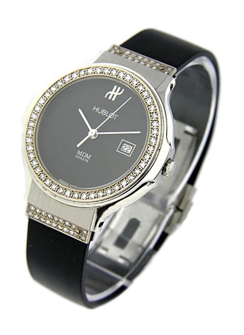 Hublot Classic   Lady's Size with Diamond Bezel