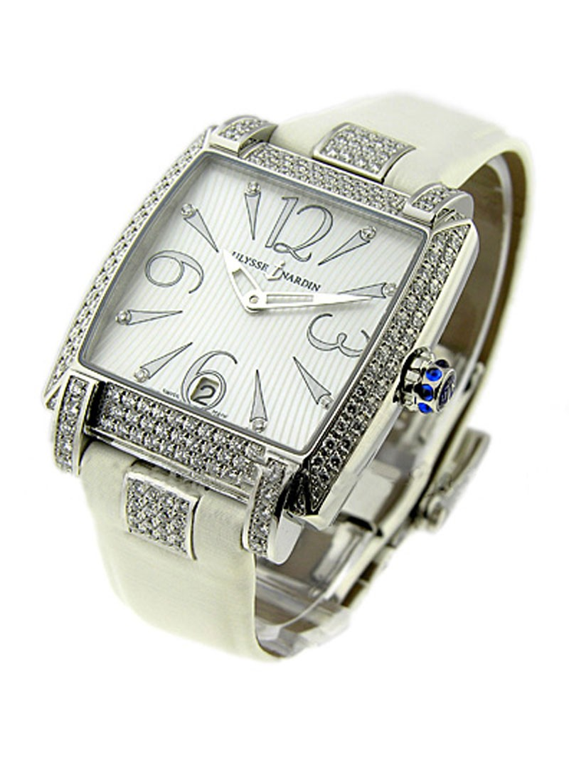 Ulysse Nardin Caprice in Steel with Diamond Bezel