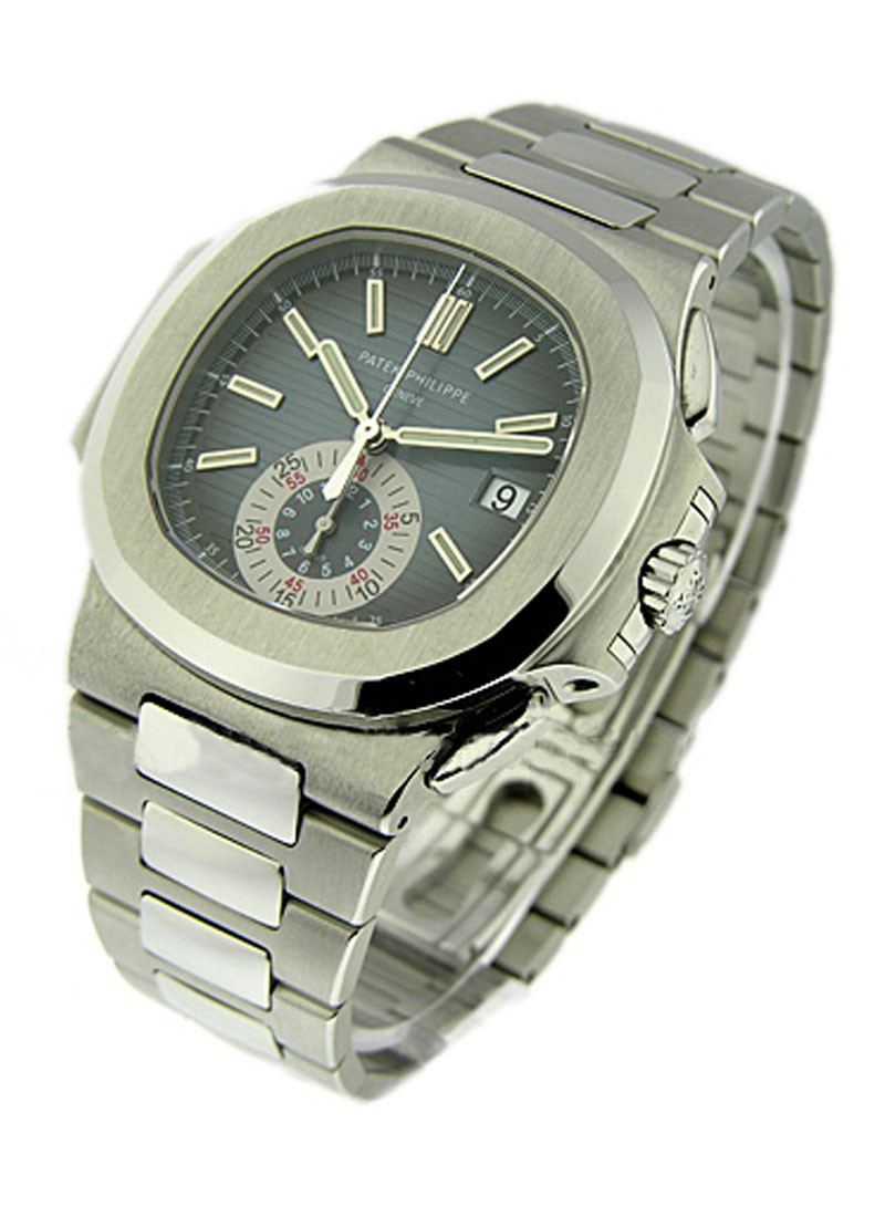 Patek Philippe Nautilus 5980/1A Chronograph in Steel