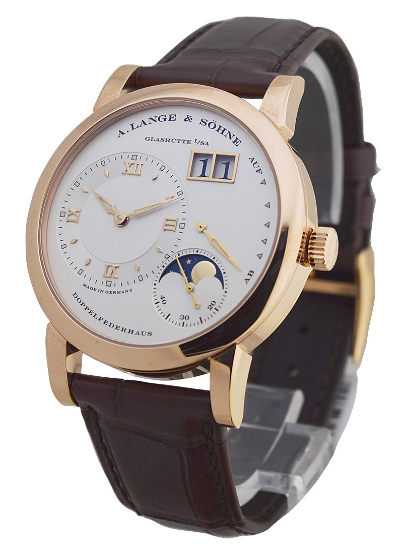 A. Lange & Sohne Lange 1 Moonphase Manual in Rose Gold