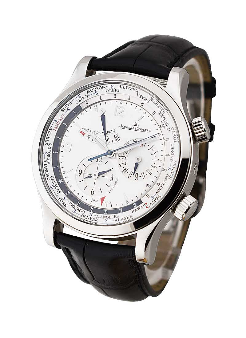 Jaeger - LeCoultre Master World Geographic in Steel