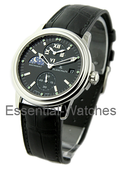 Blancpain Leman GMT Dual Time Zone 38mm Automatic  in Steel