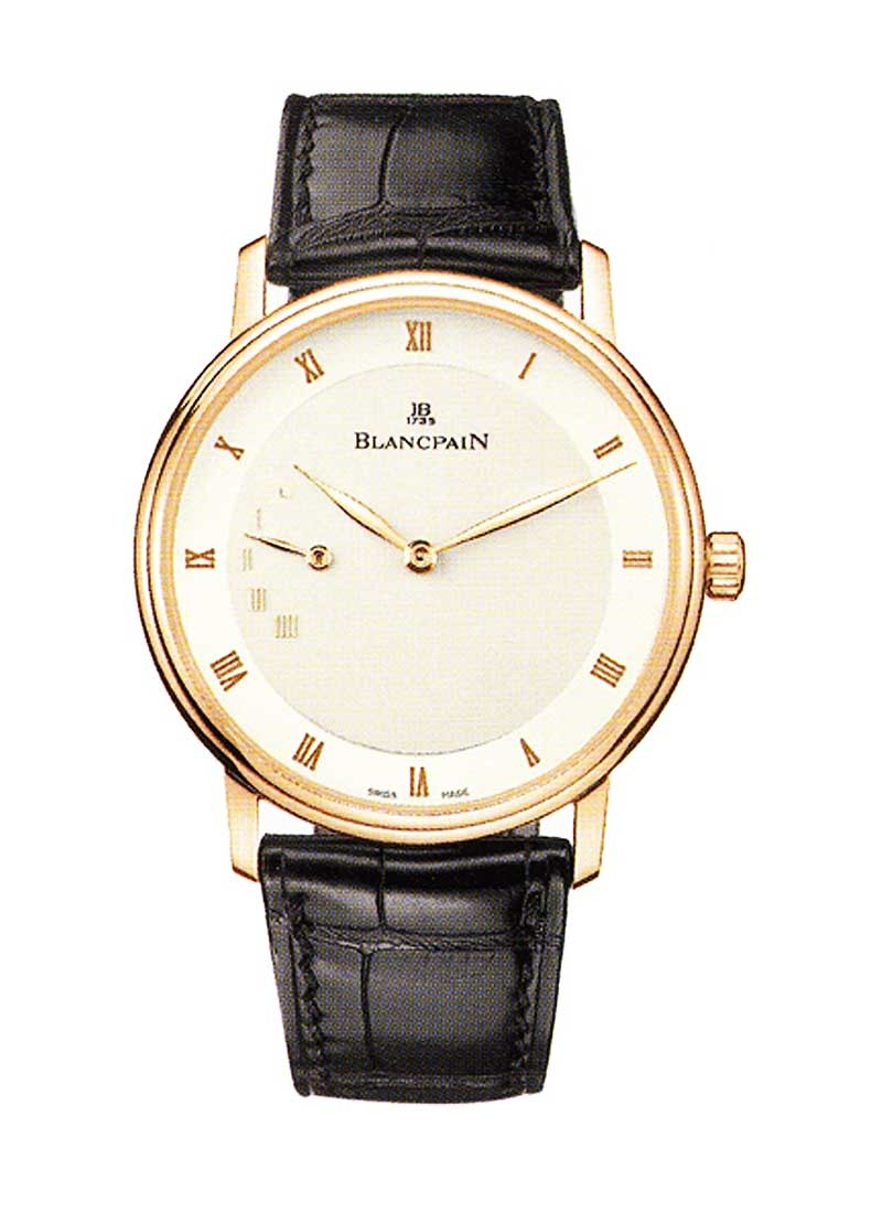 Blancpain Villeret Ultra Slim - Power Reserve