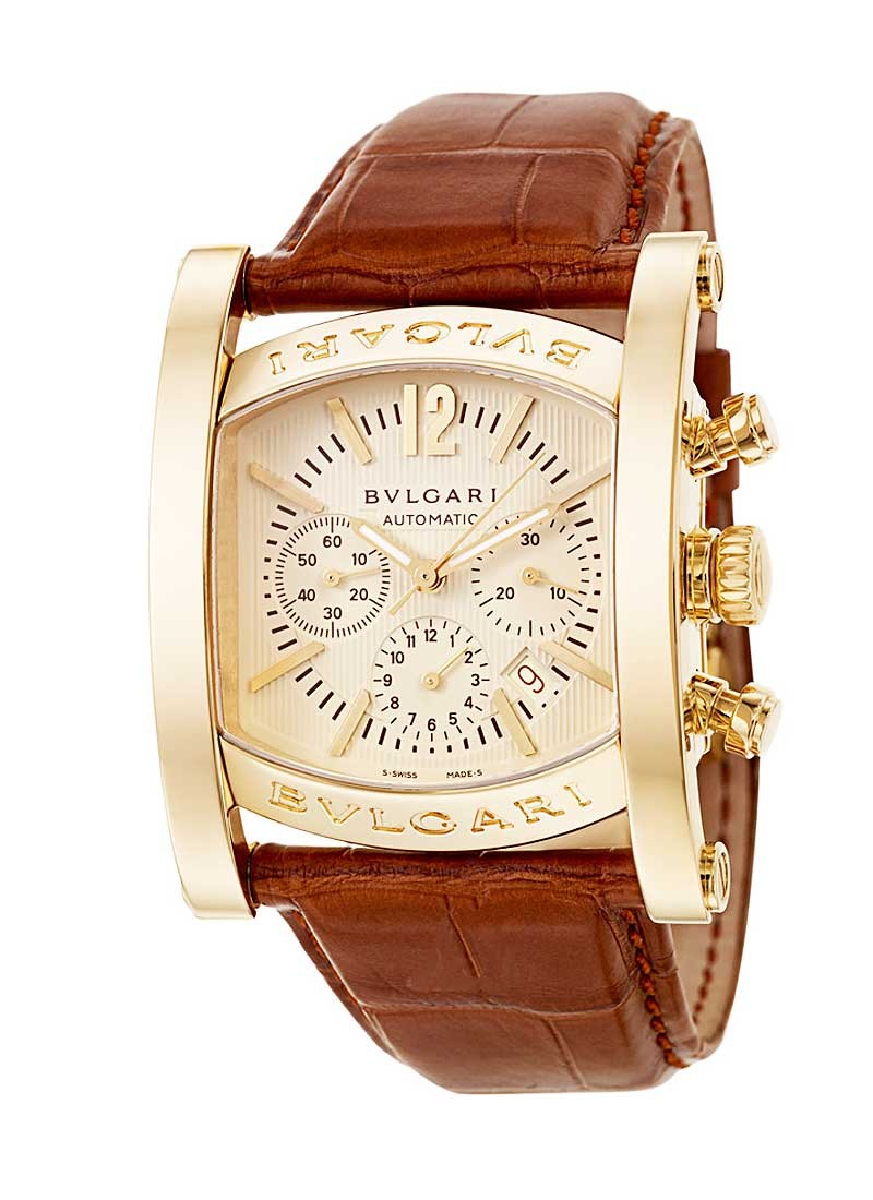 Bvlgari Assioma Chronograph 44mm in Yellow Gold