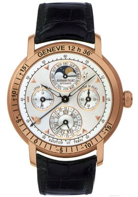 Audemars Piguet Equation of Time Moon phase in Rose Gold