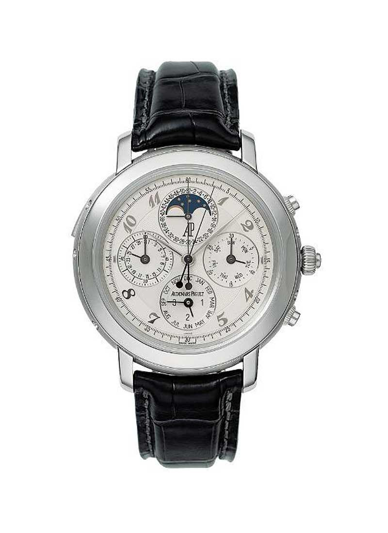 Audemars Piguet Jules Audemars Grande Complication in Platinum
