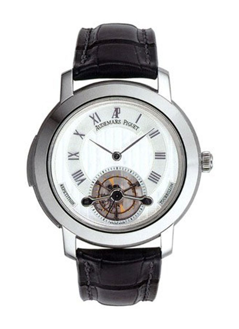 Audemars Piguet Jules Audemars Minute Repeater Tourbillon in White Gold