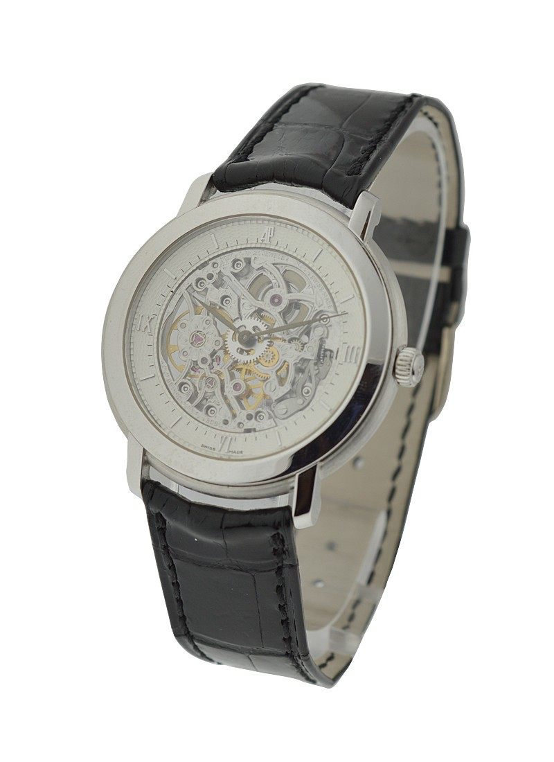 Audemars Piguet Jules Audemars Skeleton in White Gold