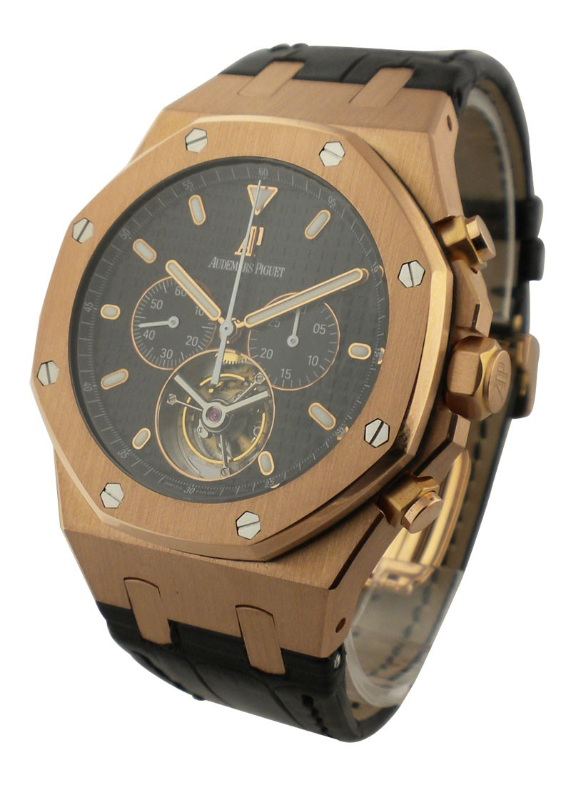 Audemars Piguet Royal Oak Tourbillon Chronograph in Rose Gold