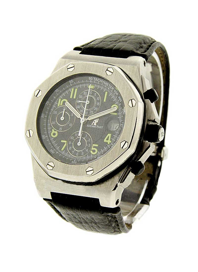 Audemars Piguet Offshore Royal Oak on Strap