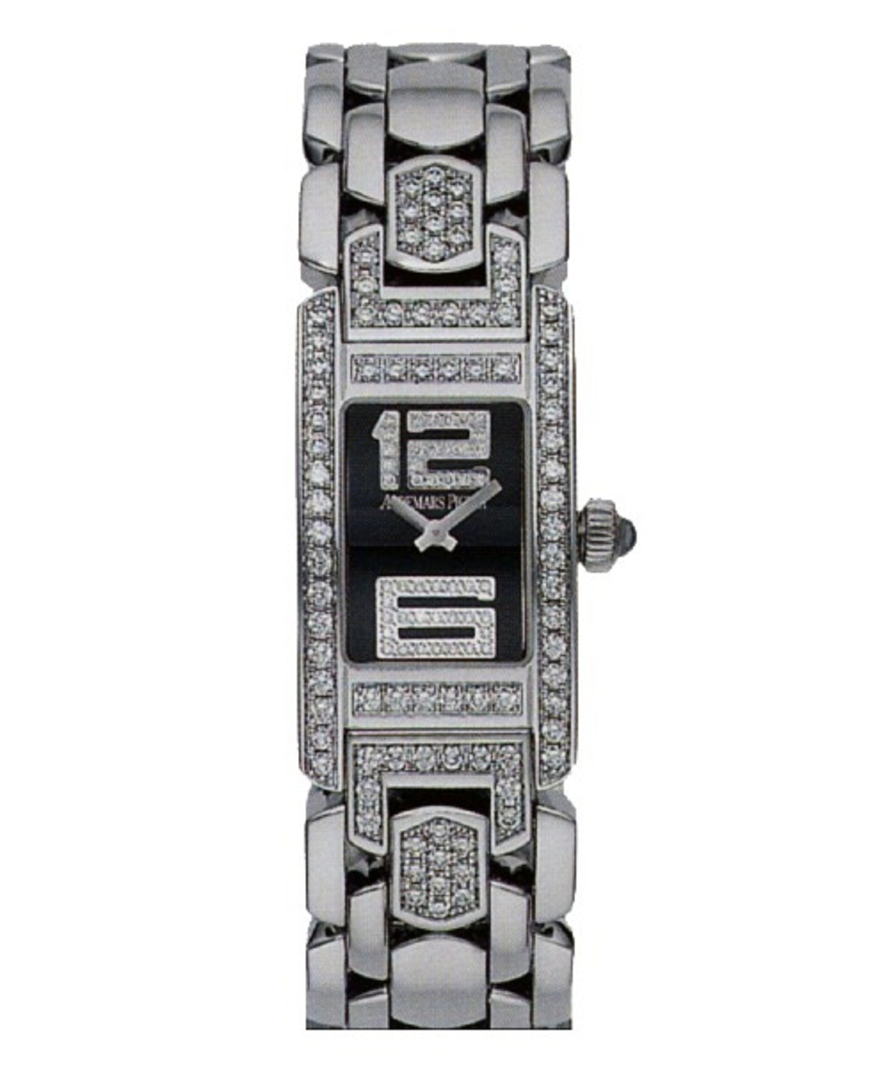Audemars Piguet Promesse Mini in White Gold with Diamond Bezel