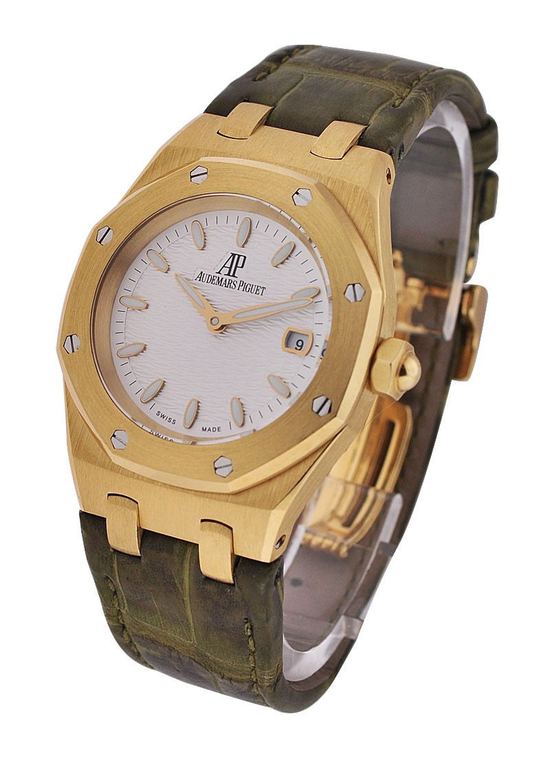 Audemars Piguet Ladys 33mm Royal Oak  - Yellow Gold