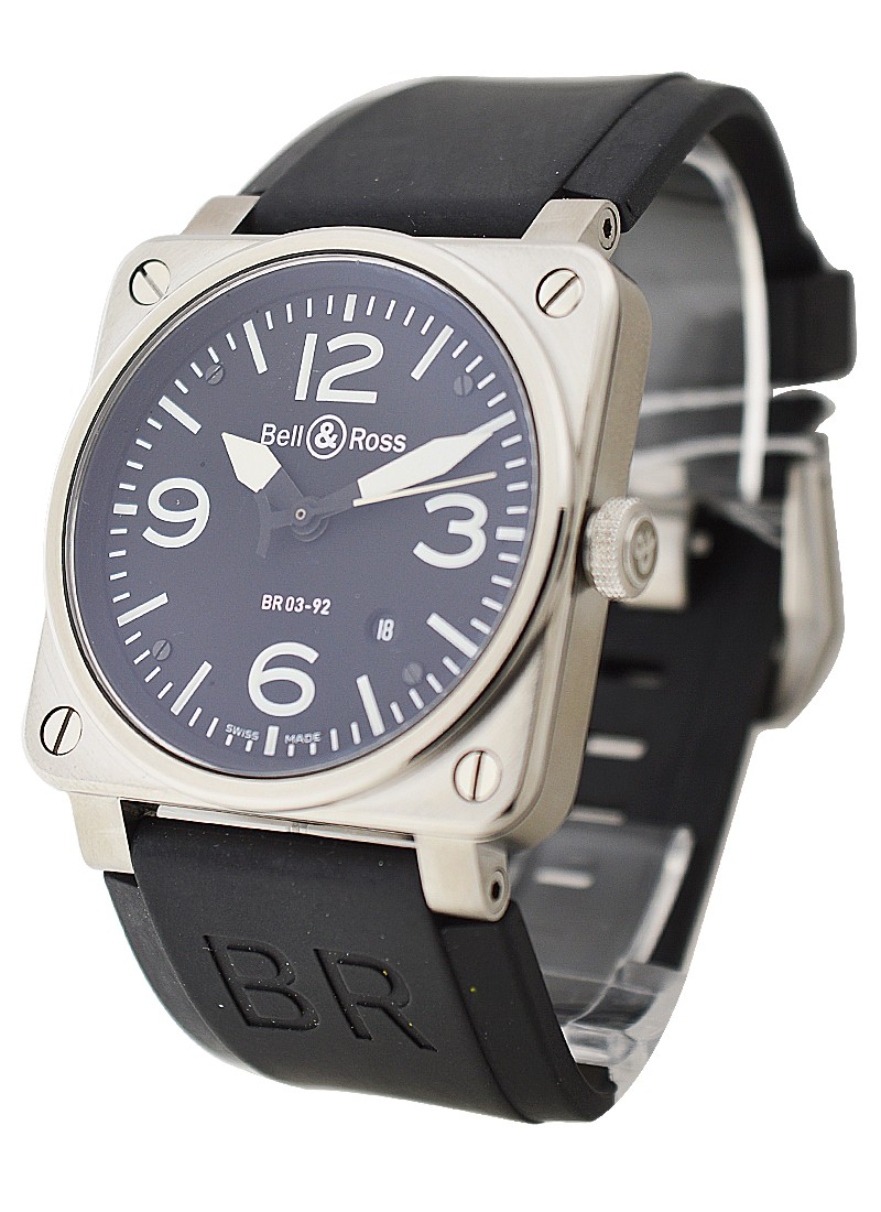 Bell & Ross BR03 92 in Steel