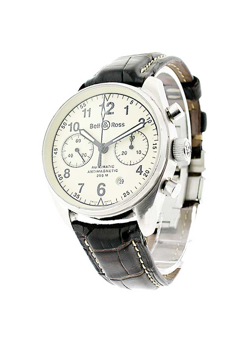Bell & Ross Vintage 126 Chronograph in Steel