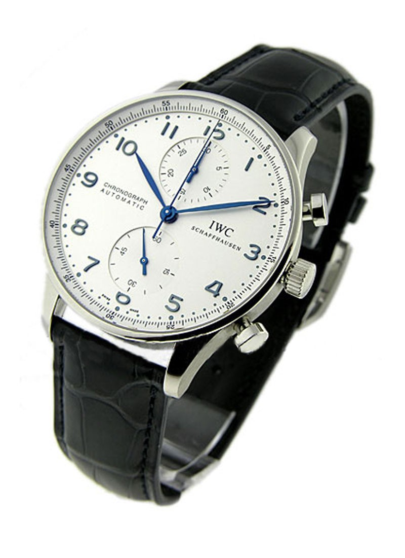 IWC Portuguese Chronograph in Steel