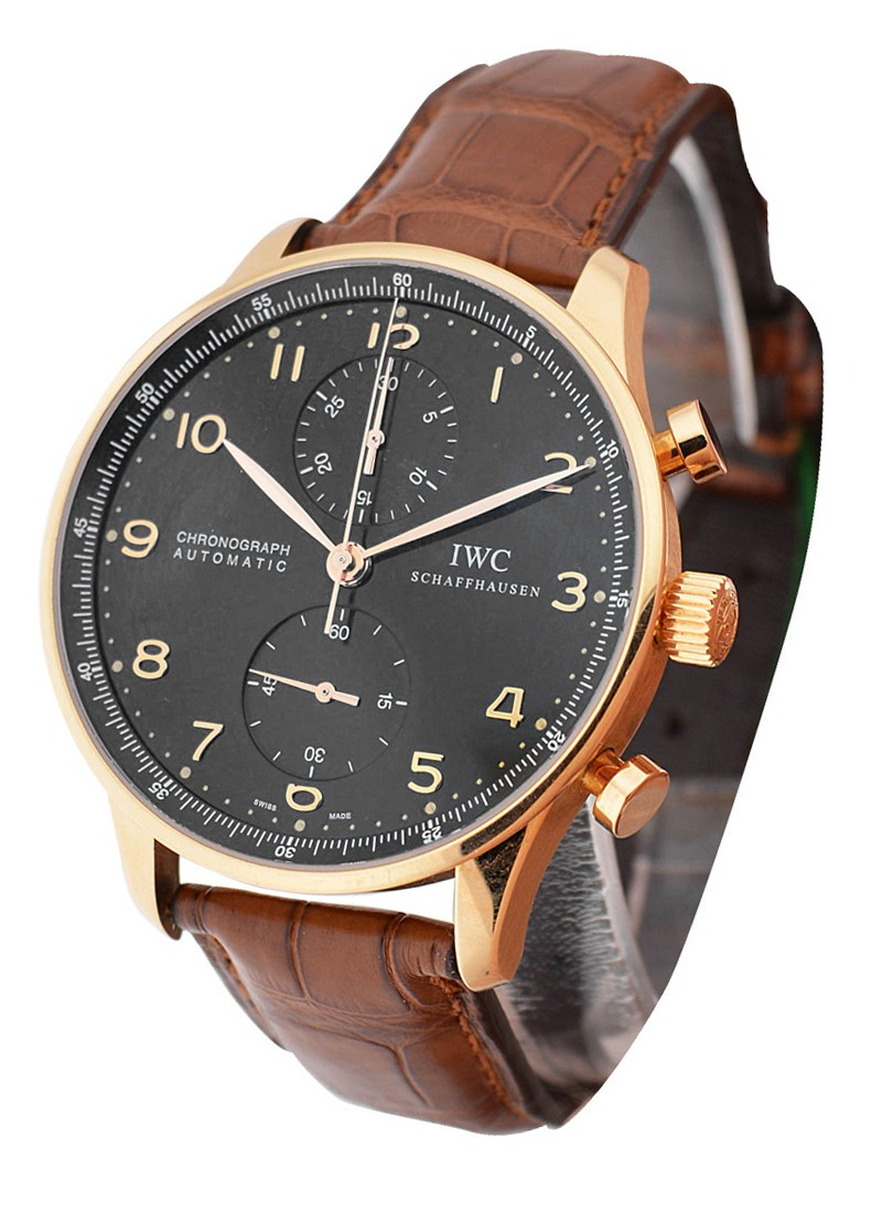 IWC Portuguese - Automatic Chronograph in Rose Gold