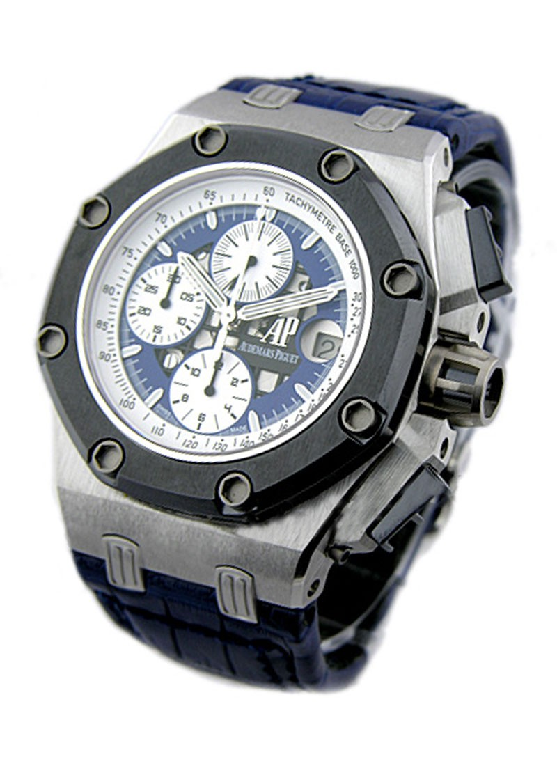 Audemars Piguet Rubens Barrichello II Offshore Chronograph in Platinum