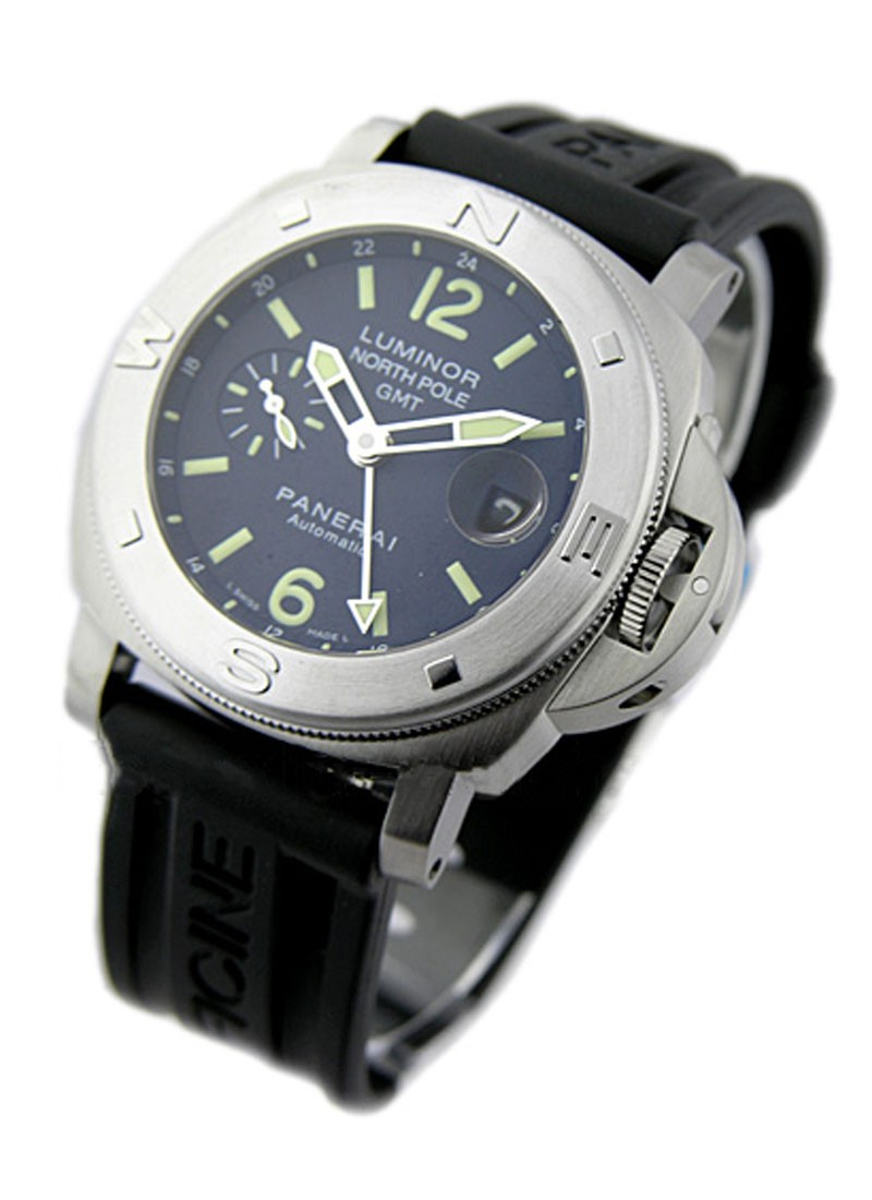 Panerai PAM 252 - North Pole GMT - 2006 Special Edition in Steel