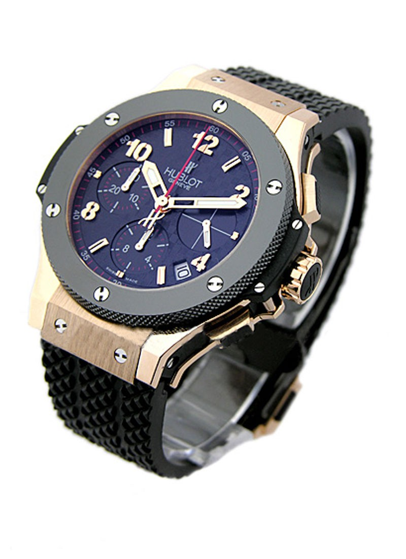 Hublot Big Bang 41mm in Rose Gold with Ceramic Bezel