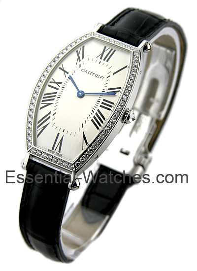 Cartier Tonneau 18KT White Gold - MidSize