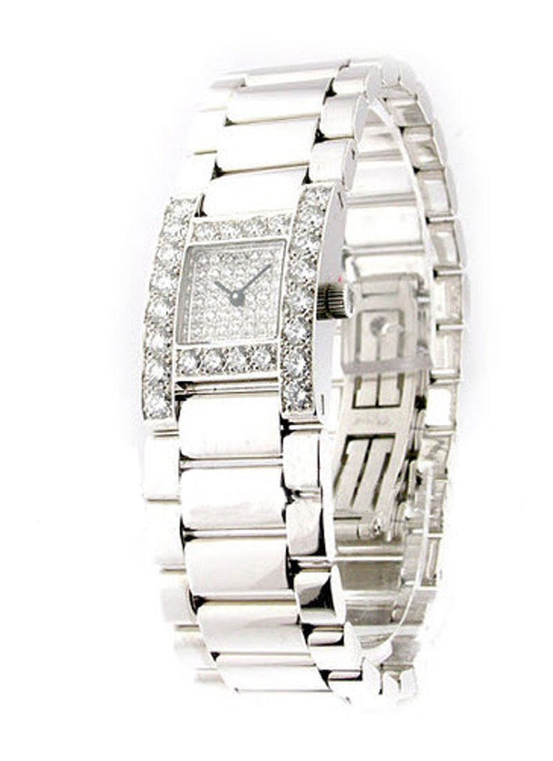 Chopard Hour watch in White Gold with Diamond Bezel