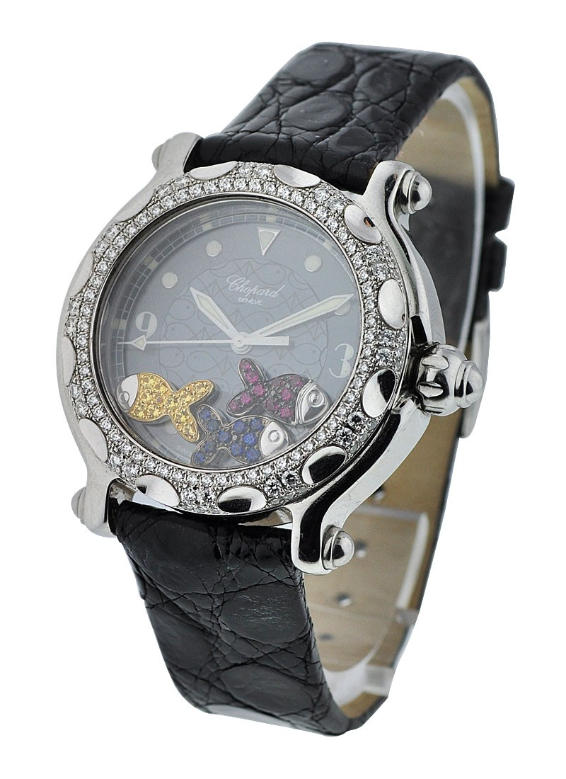 Chopard Happy Beach with Diamond Bezel