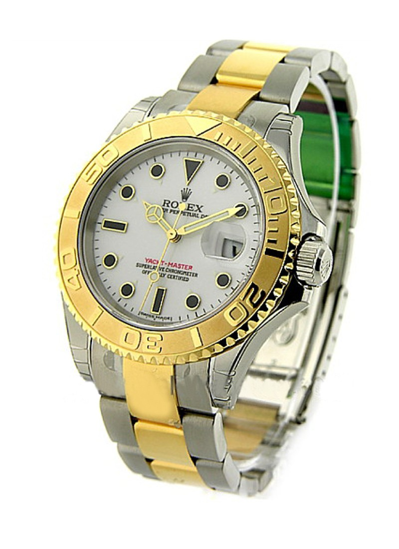 Rolex Unworn Yacht Master 2 Tone Steel and 18kt Yellow Gold