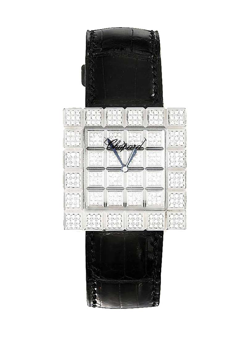 Chopard Ice Cube XL in White Gold with Diamond Bezel