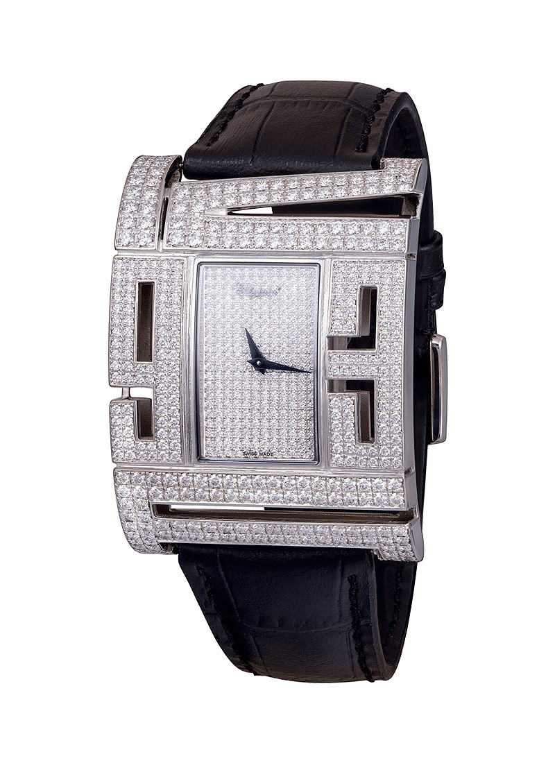 Chopard Montres Dame in White Gold