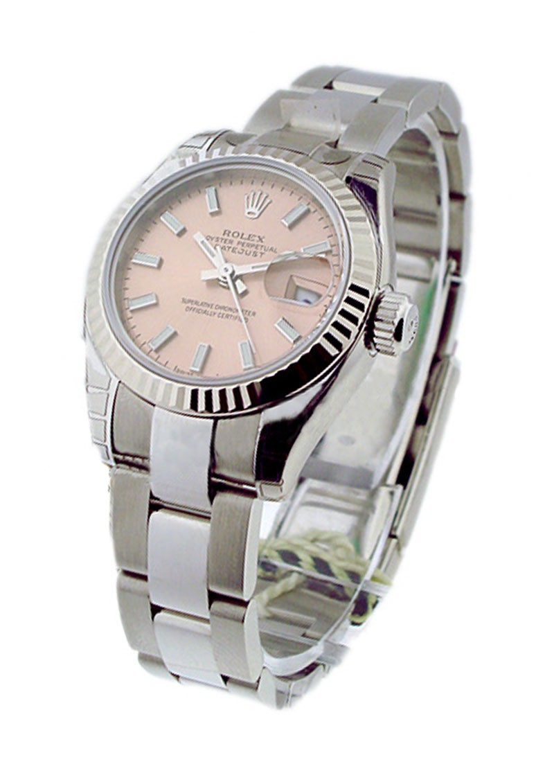 Rolex Unworn Lady's Steel DATEJUST with Oyster Bracelet 179174