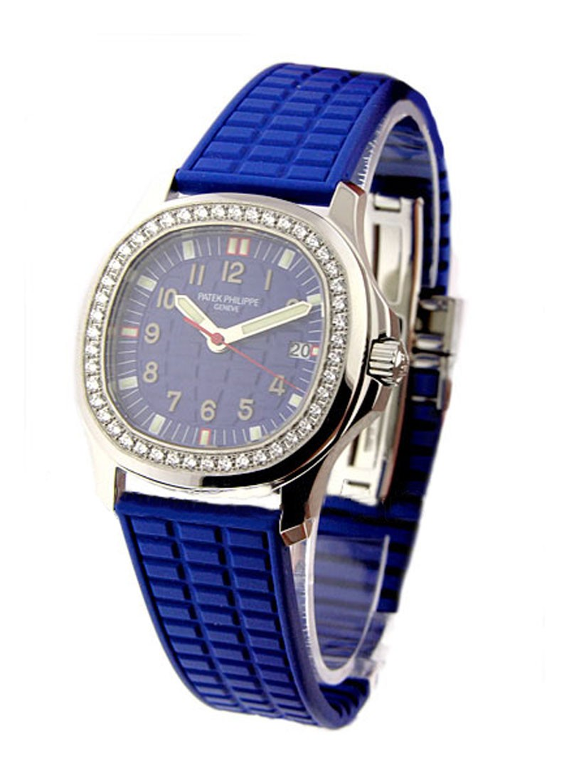 Patek Philippe Lady's Aquanaut Luce in Steel with Diamond Bezel
