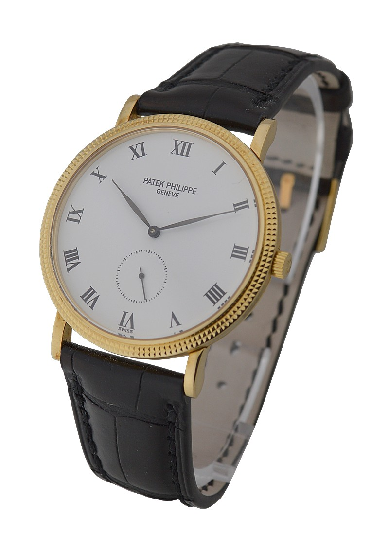 Patek Philippe Calatrava 33mm in Yellow Gold