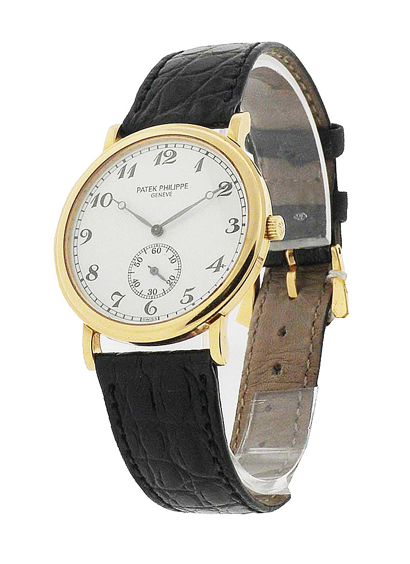 Patek Philippe 5022 Calatrava in Yellow Gold