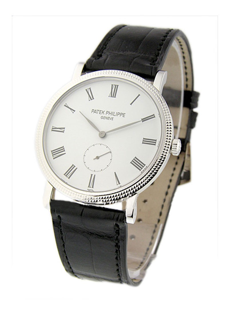 Patek Philippe Calatrava 5119G in White Gold with Hobnail Case