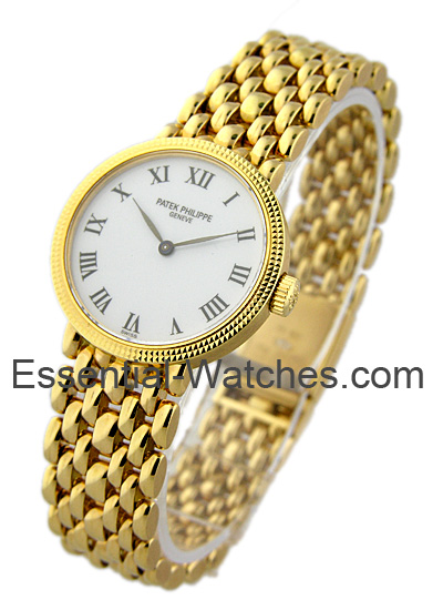 Patek Philippe 4809/2J - Lady's Calatrava on Bracelet