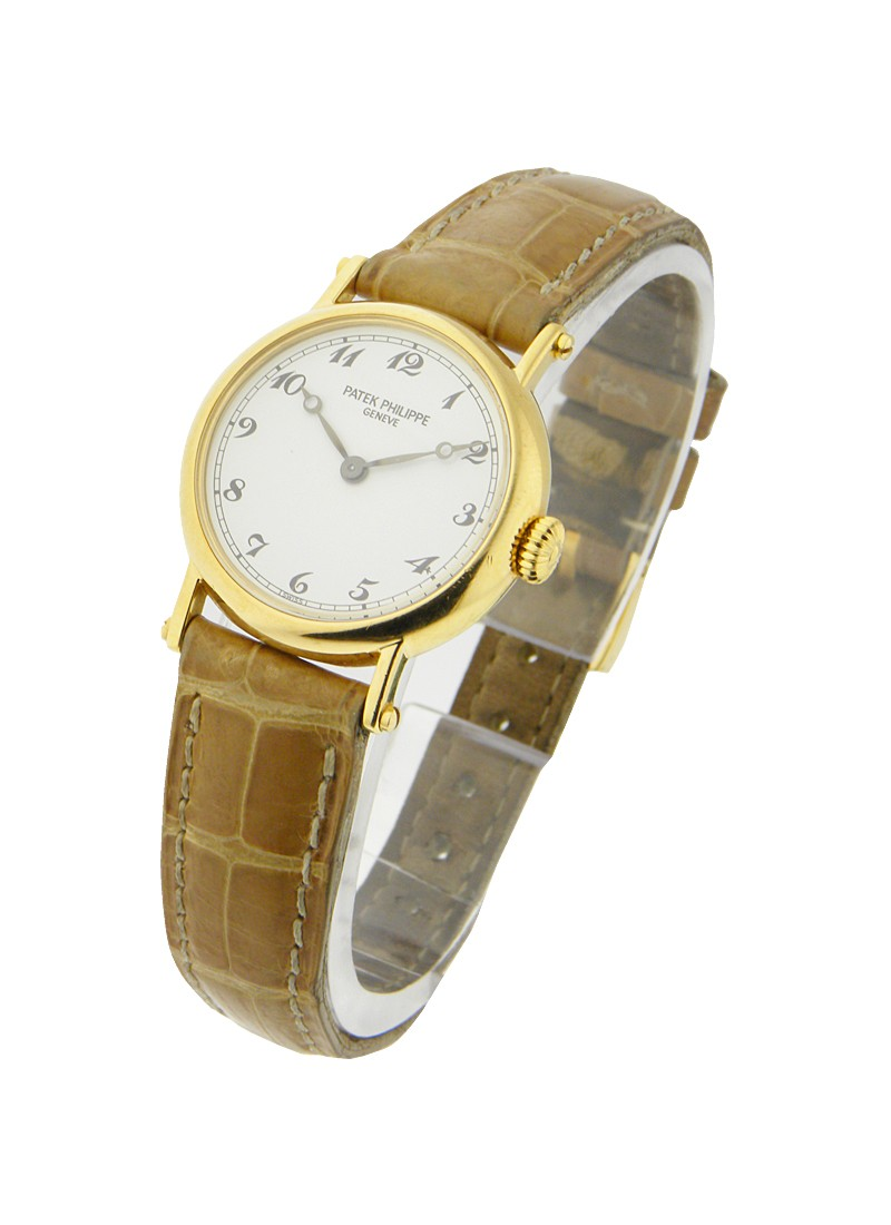 Patek Philippe Ladys 4860 Mechanical Calatrava in Yellow Gold