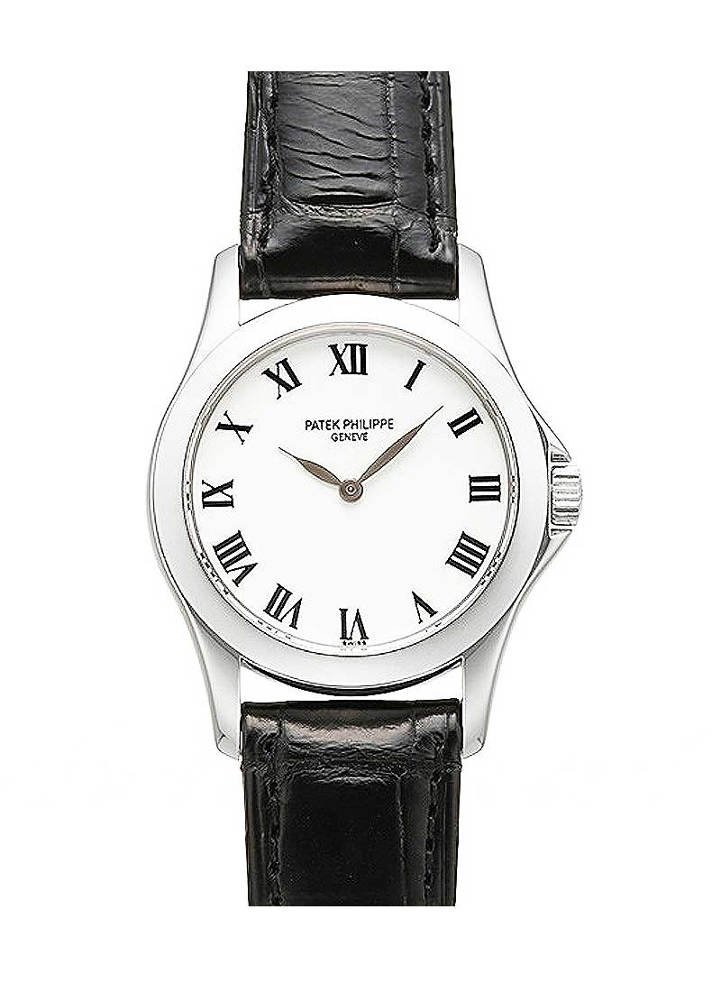 Patek Philippe Calatrava 4905G in White Gold