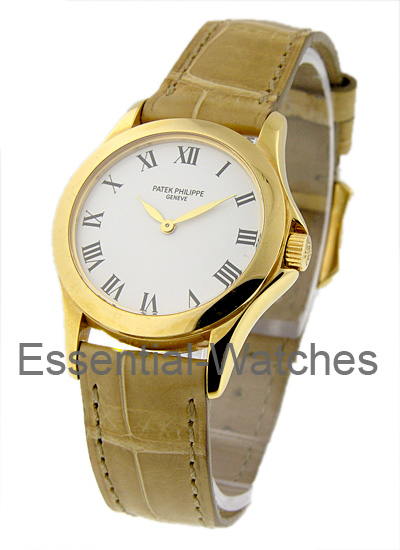 Patek Philippe Calatrava 28mm in Yellow Gold