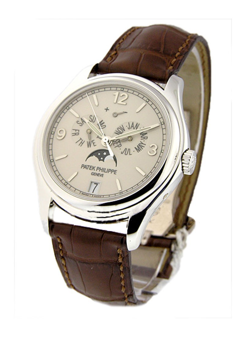 Patek Philippe 5146G Annual Calendar with Moon in White Gold