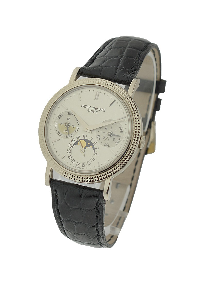 Patek Philippe Ref 5039G Perpetual Calendar with in White Gold