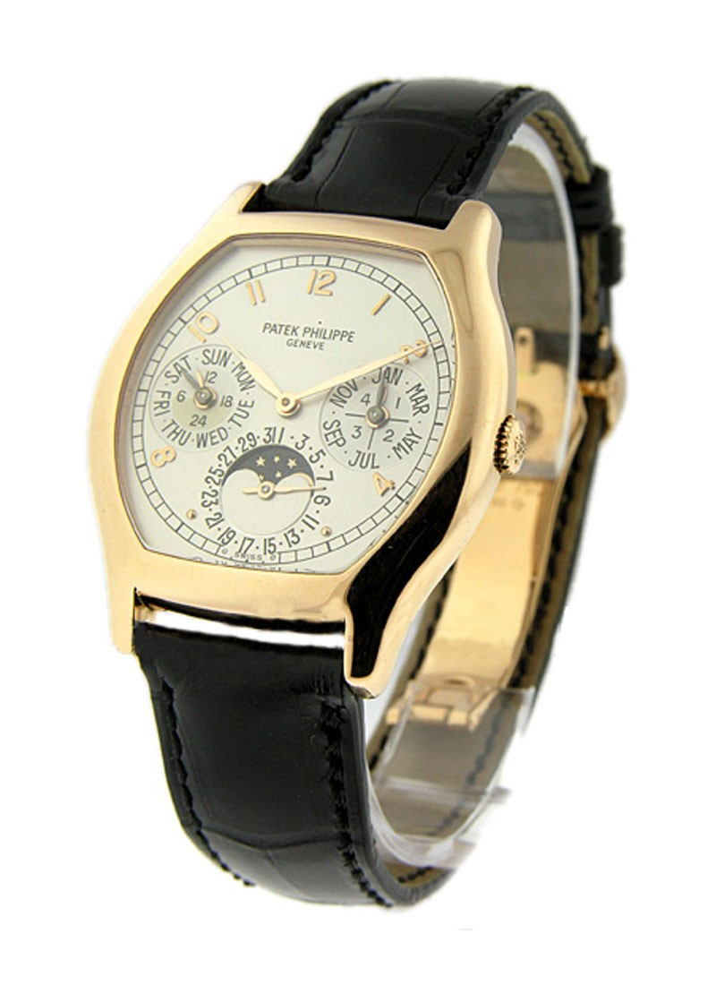 Patek Philippe Ref 5040 Perpetual Calendar in Rose Gold