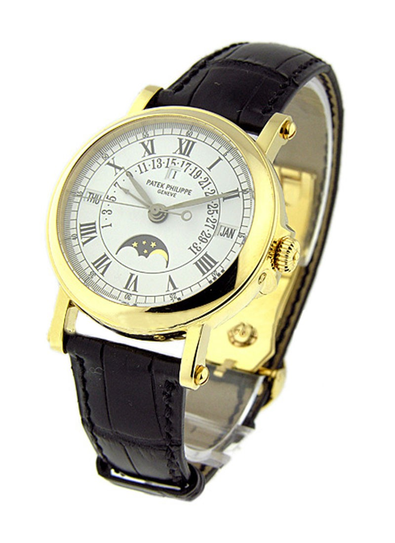 Patek Philippe 5059 Retrograde Perpetual Calendar in Yellow Gold