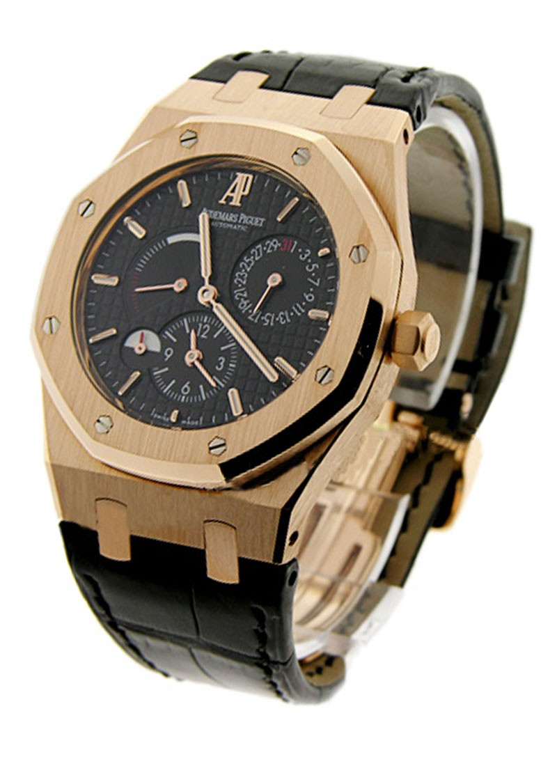 Audemars Piguet Royal Oak - Dual Time Power Reserve in Rose Gold