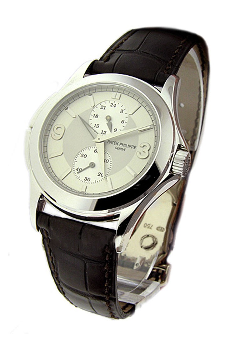 Patek Philippe Travel Time 5134 White Gold