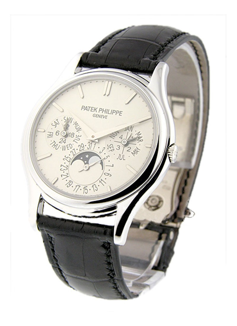 Patek Philippe Ultra Thin Perpetual Calendar in White Gold