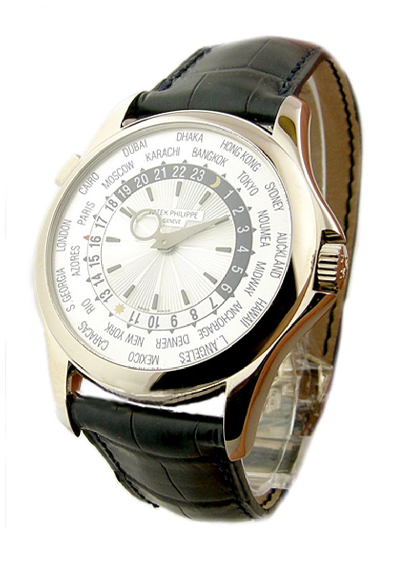 Patek Philippe 5130G - World Time - Current Version in White Gold