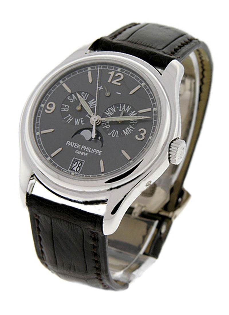Patek Philippe Ref 5146G Annual Calendar with Moon in White Gold