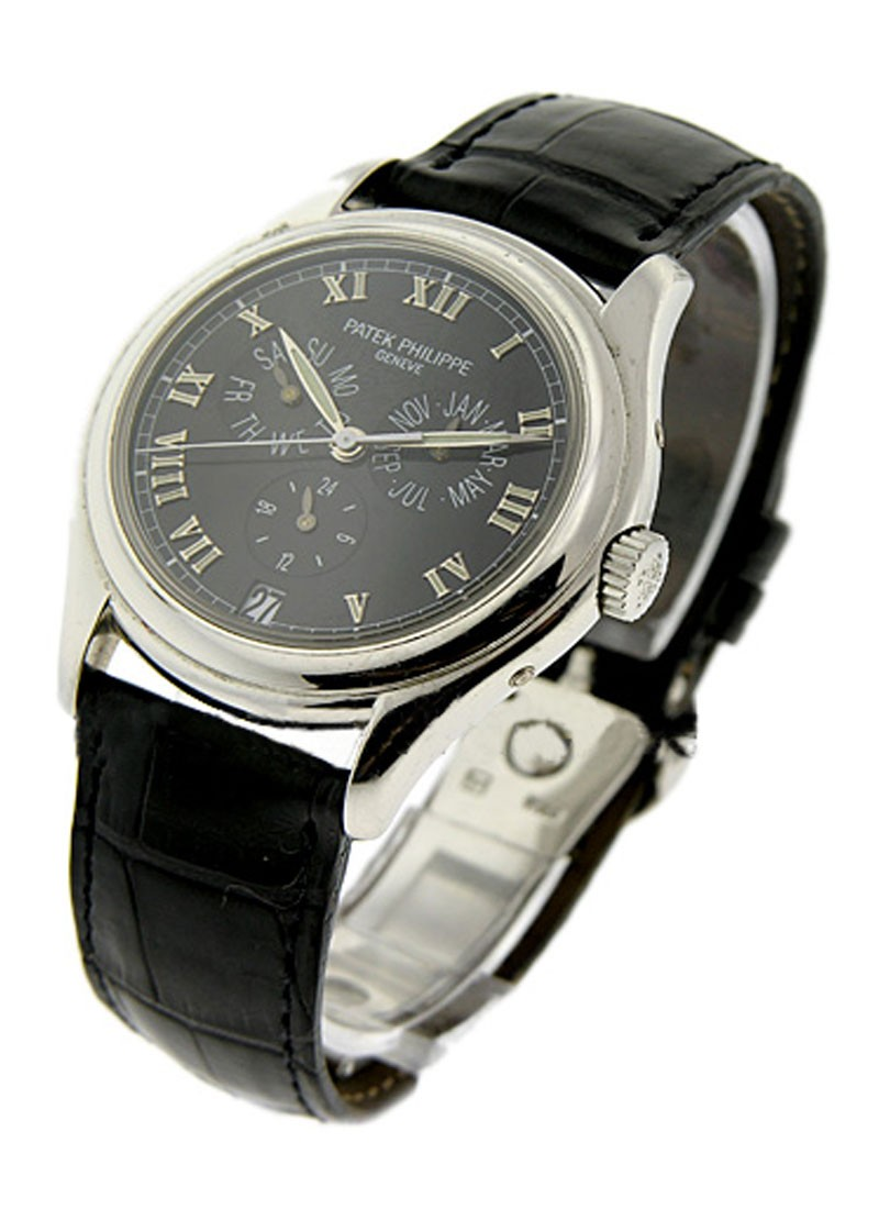 Patek Philippe 5035P   Annual Calendar 37mm in Platinum