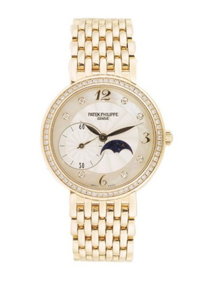 Patek Philippe Lady's Calatrava with Moon Phase and Sub Second